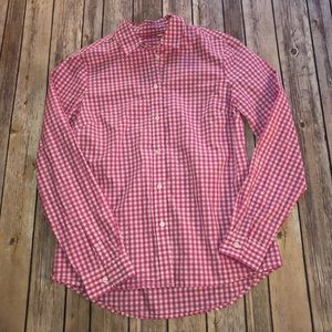 Boden || Long Sleeve Check Button Up Size Small